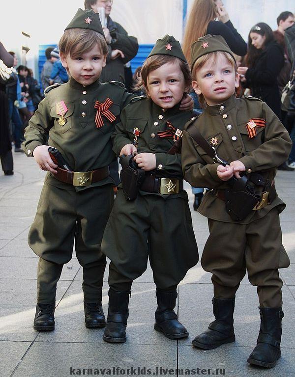 Военная форма для детей на 9 мая - Выкройки для детей ...