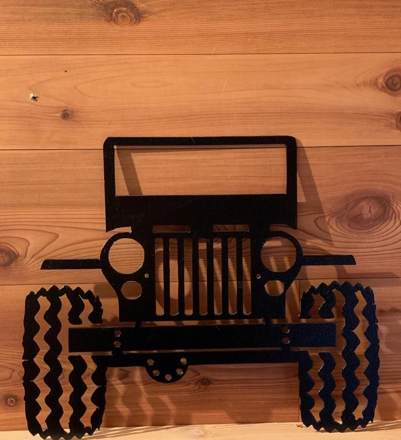 Jeep Metal Art Metal Art Metal Wall Art Metal Wall Decor Etsy In 2021 Jeep Gifts Jeep Art Jeep Lover Gifts