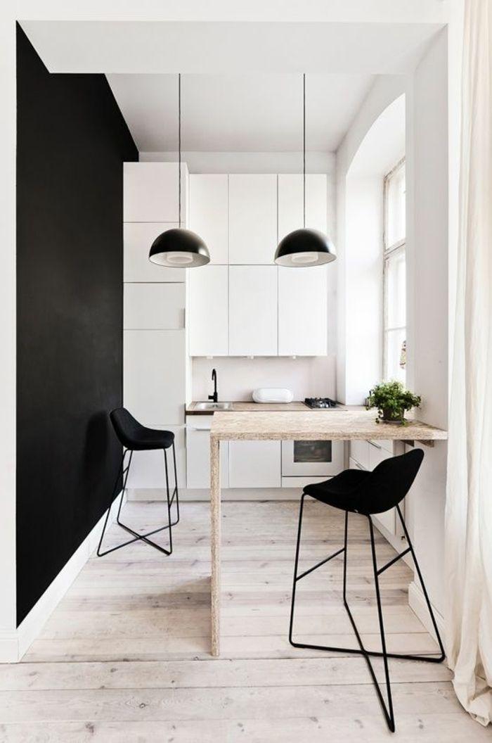 Comment aménager une petite cuisine? Idées en photos! Kitchenette