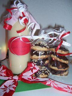 Weihnachtlicher Likör mit Zimtnote und Lebküchlein