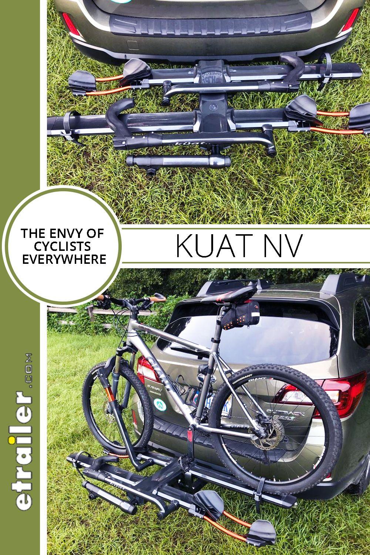 Kuat Nv 2 0 2 Bike Platform Rack 2 Hitches Tilting Gunmetal