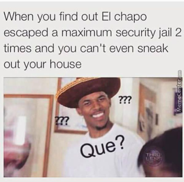 6ee4bc98a3564de4dbecf292671bea75 el chapo el chapo, meme and memes,Black Guy Question Mark Meme