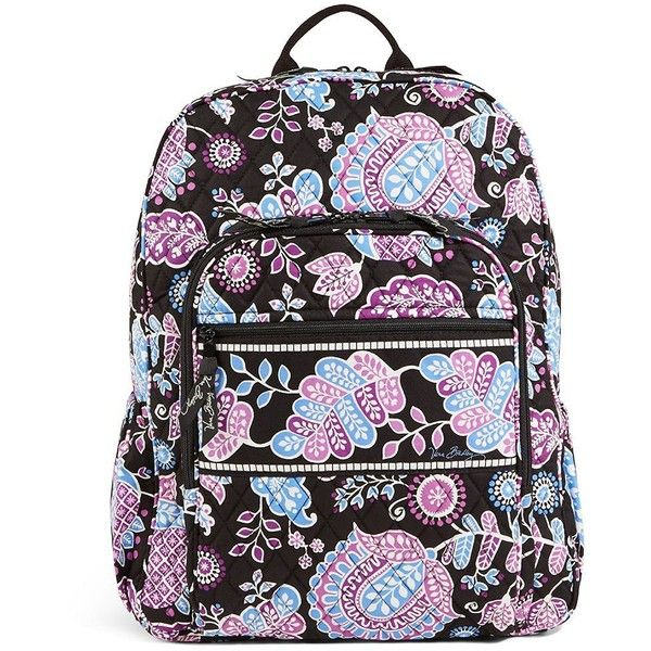 Vera Bradley Campus Backpack (150 SGD) ❤ liked on Polyvore featuring bags,  backpacks 3506cc32fe
