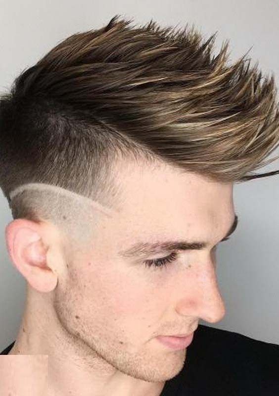 31 Trendy Spiky Faux Hawk Menu0027s Hairstyles For 2018 | Faux Hawk Men,  Stylish Hairstyles And Trendy Hair
