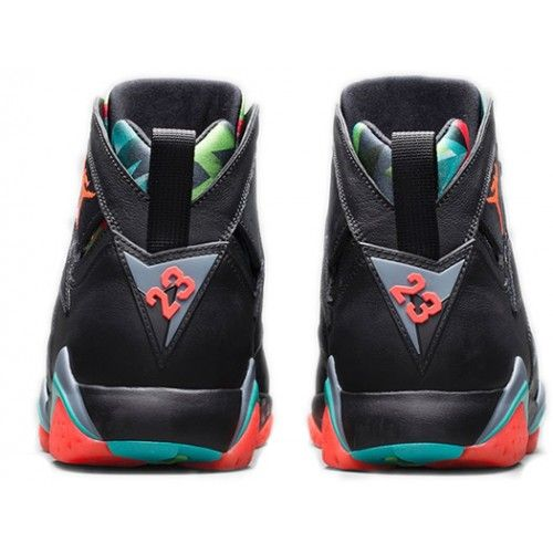 Authentic 705350 007 Air Jordan 7 Retro Black/Blue Graphite Retro Infrared 23 Men Women GS Girls