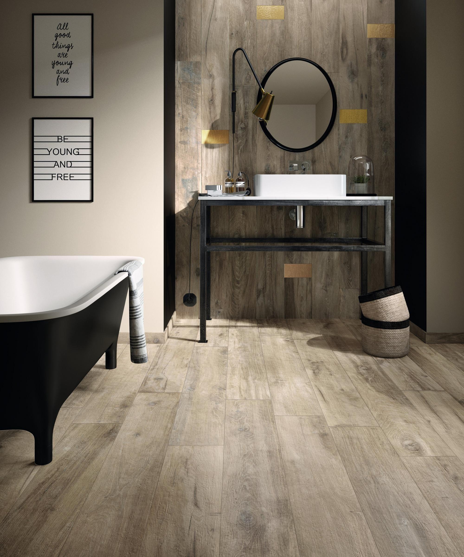 Legend Sand Wood Plank Porcelain Tile Best Bathroom Flooring