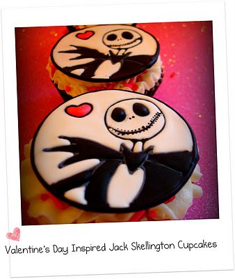 mighty delighty valentine s day inspired jack skellington cookie