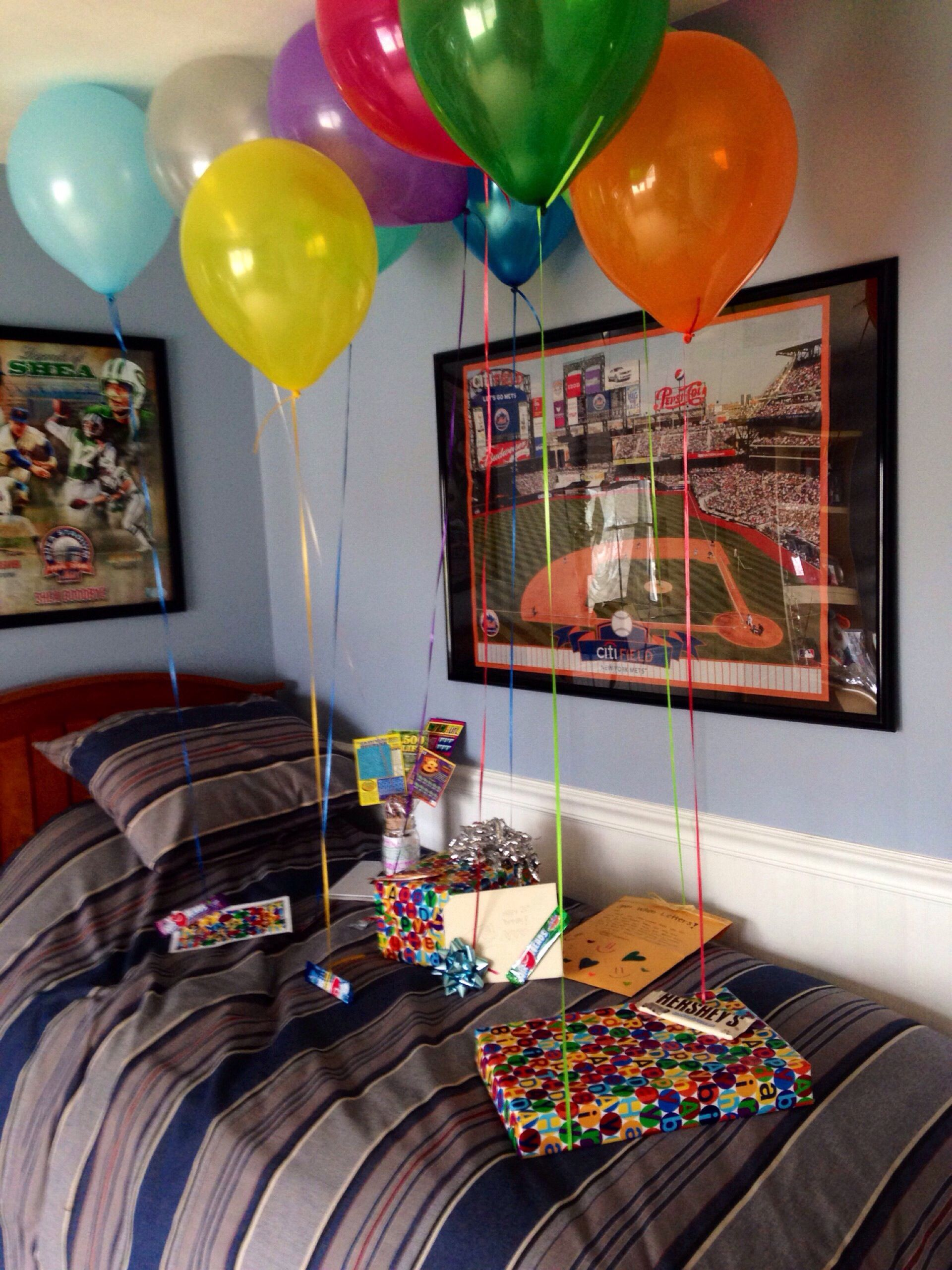 Birthday Room Decoration Ideas At Home Simple