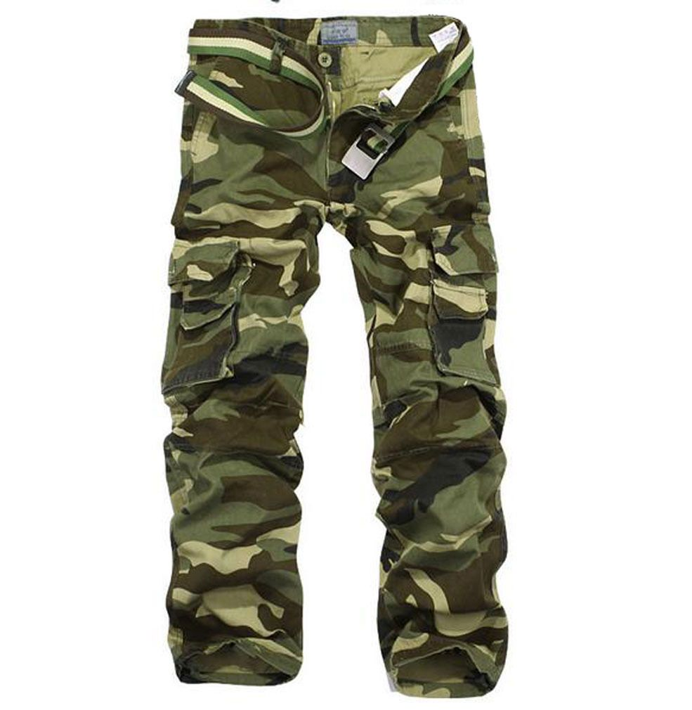 Tactical Men Casual Military Army Camo Cargo Combat Work Pants Trousers 34 34296 | eBay