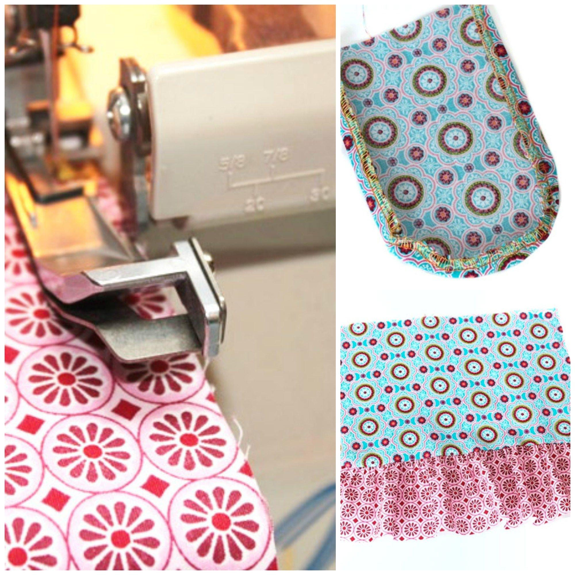 Tutorial: Praktische Overlock-Tricks   Costura, Profesional y Textiles