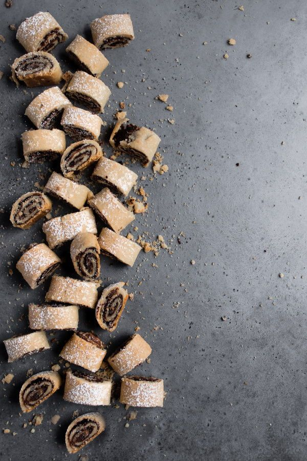 Chocolate Rolled Cookies | Recipe | Chocolate roll, Roll ...