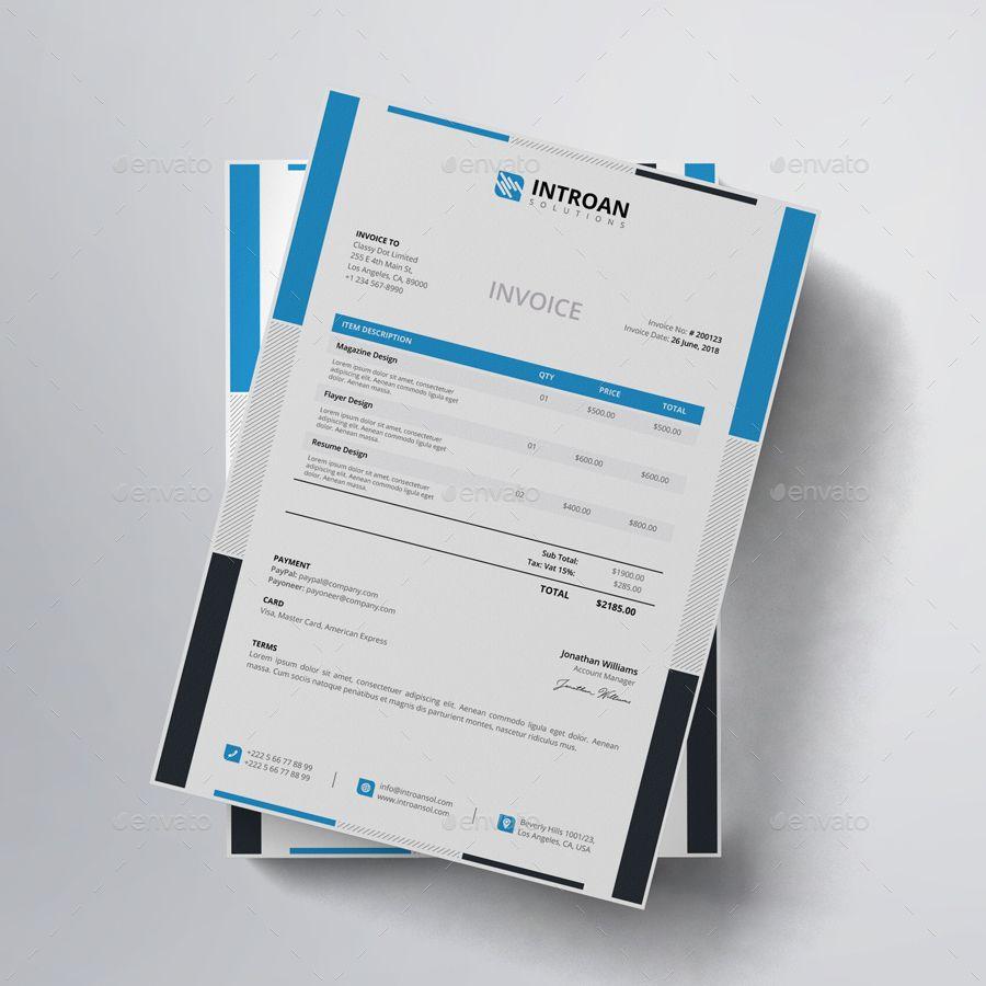 Invoice Proposals Invoices Invoice Design Web Design Design