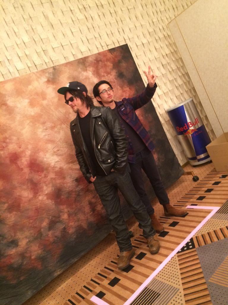 Norman e Steven em Tokio (26.12.2014)