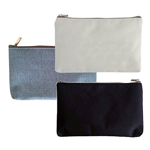 Aspire 1 Dozen Canvas Pouch With Zipper Diy Fabric Bag 6 11 16 X 4 5 16 Inch Mixed Fabric Bag Canvas Pouch Canvas Makeup Bag