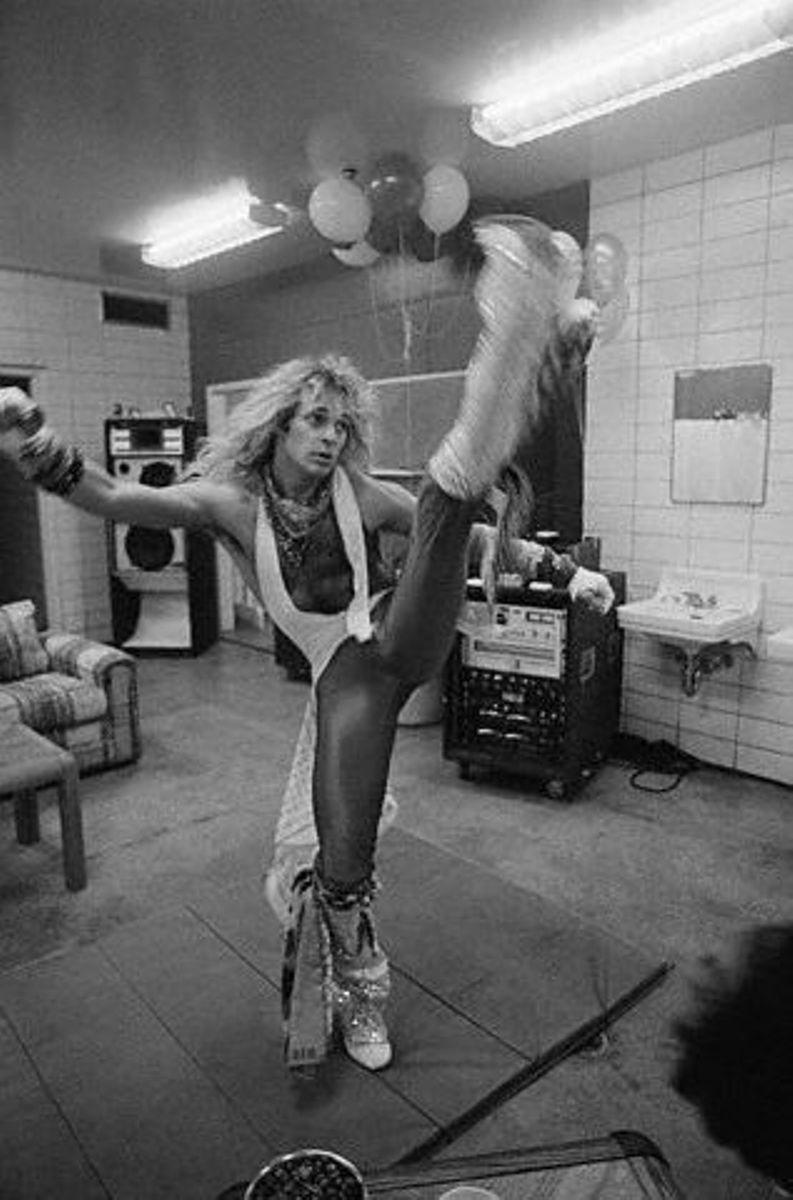 David Lee Roth Backstage David Lee Roth Van Halen David Lee