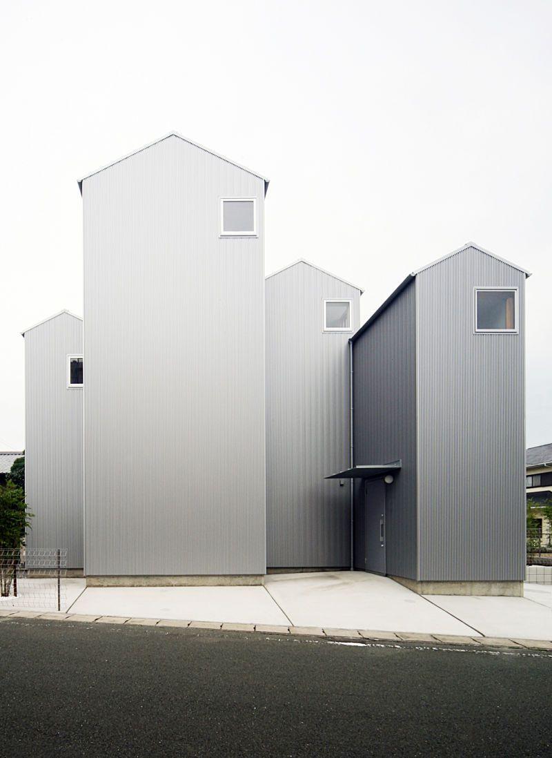 Wohnt rme in kosai architektur architecture architektur moderne architektur und wohnungsbau - Klassische moderne architektur ...