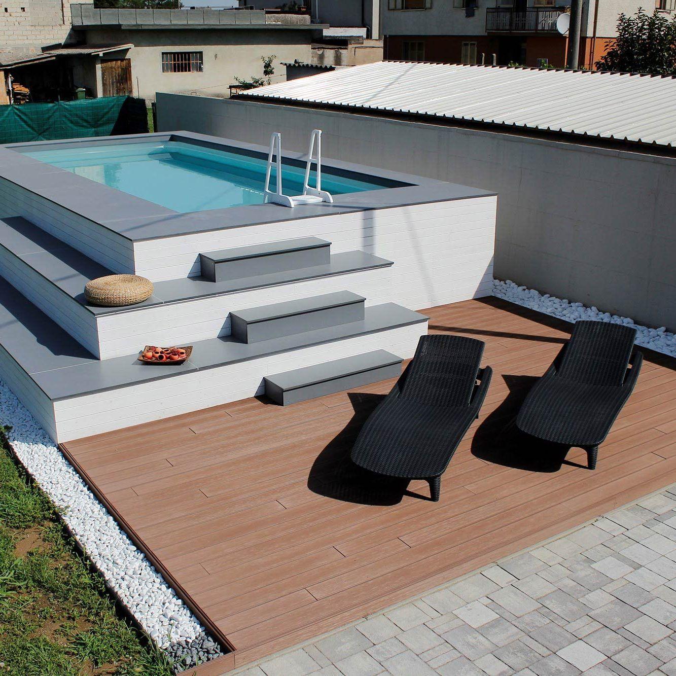 Arredi Per Piscine Esterne piscine fuoriterra | piscine, spazi esterni, piscina fuori terra