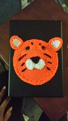 Crochet Tiger face