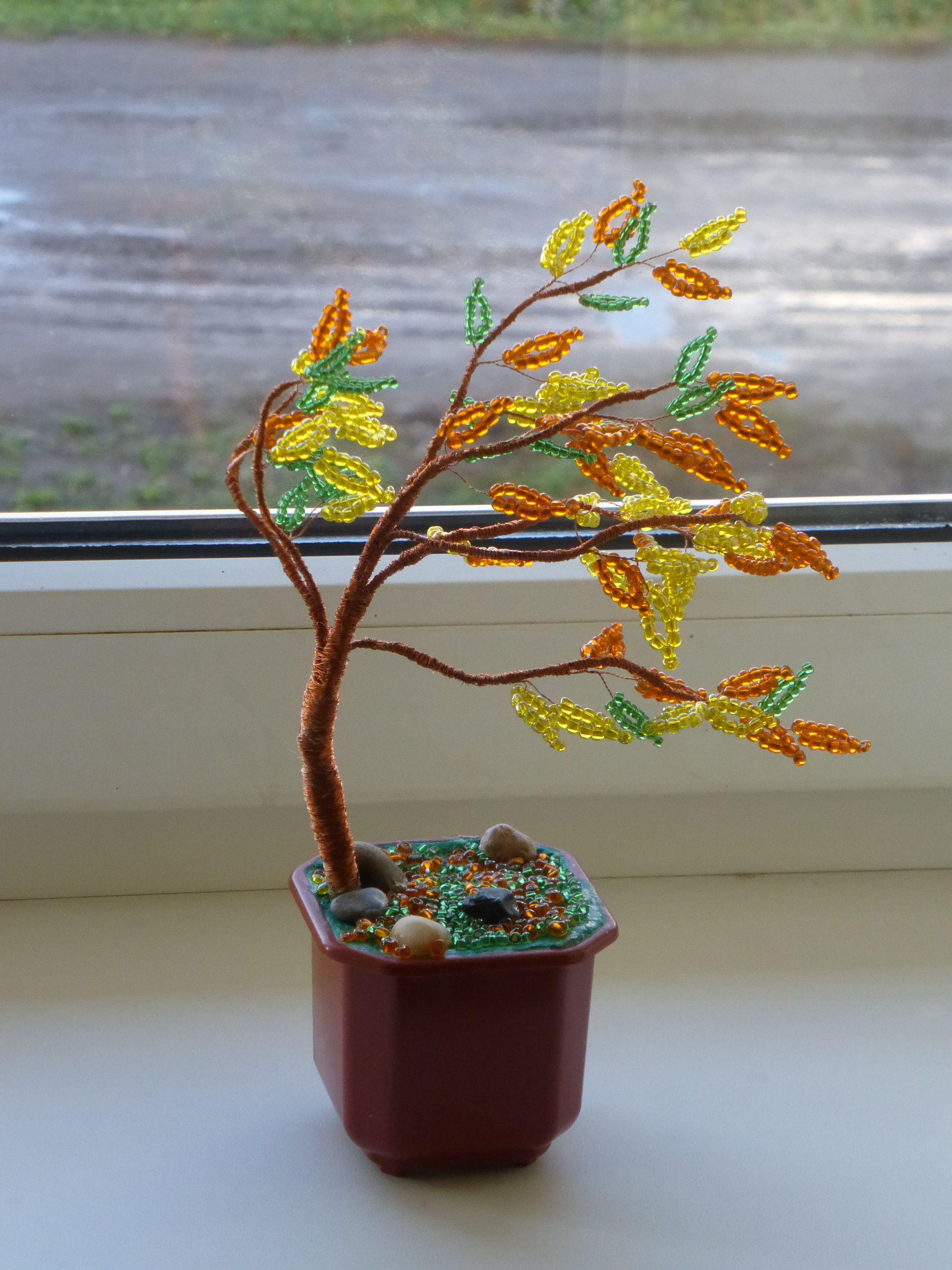 Осеннее настроение -Дерево на осеннем ветру.   Осенние ...