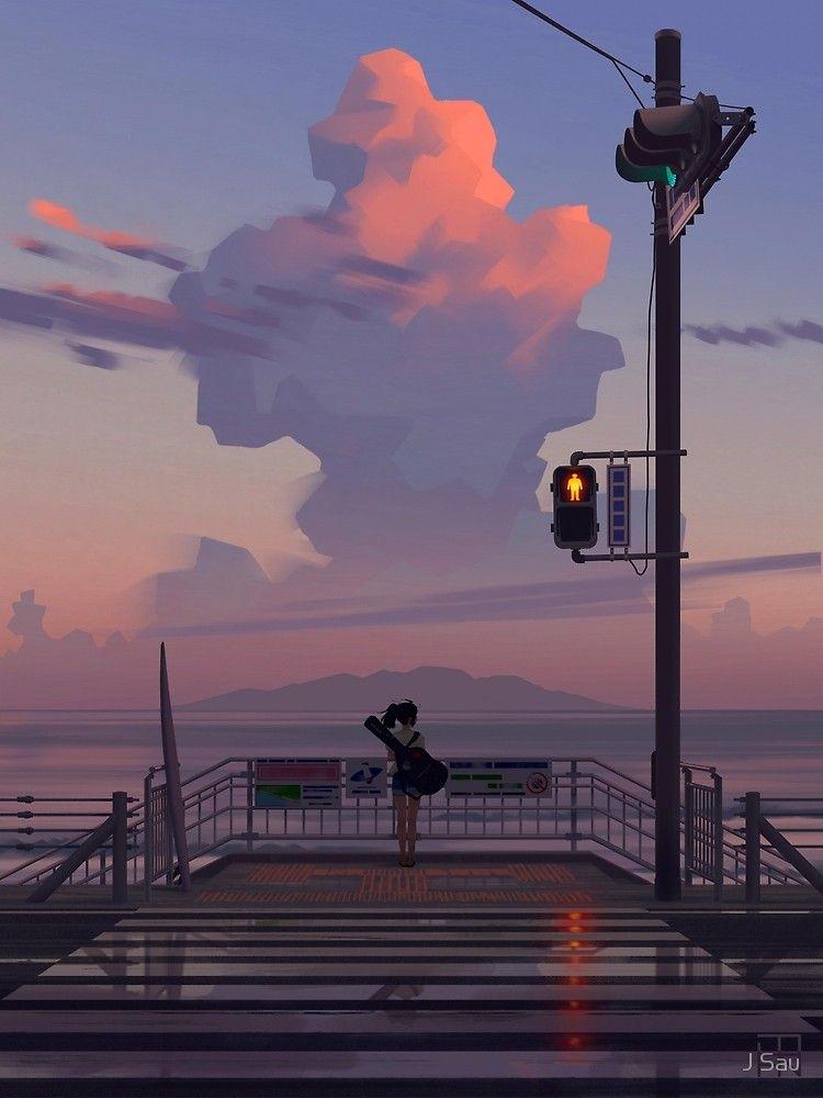 'The Sky's On Fire 2' by J Sau