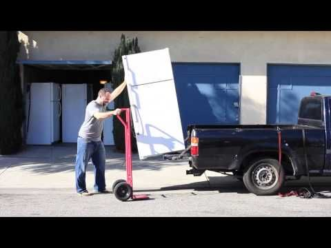 How To Transport A Fridge By Yourself Part 1 Junk Removal Removal Services Moving Help
