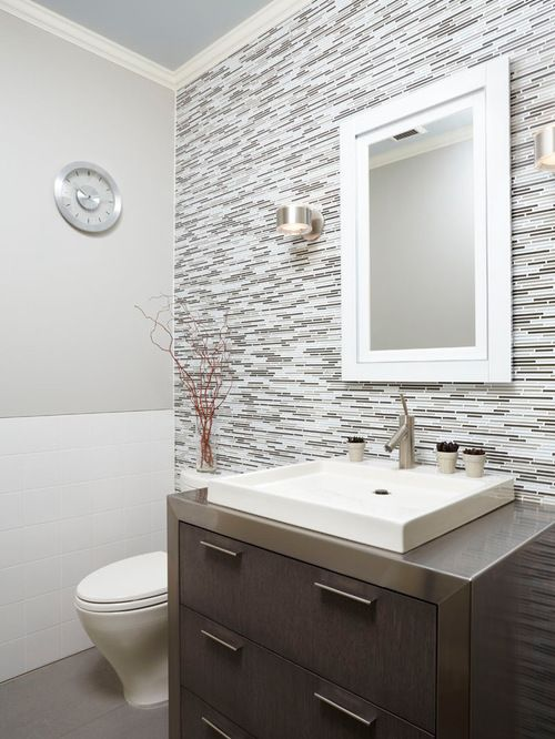 Half Bathroom Tile Ideas Delectable 26 Half Bathroom Ideas And Design For Upgrade Your House  Half . Review