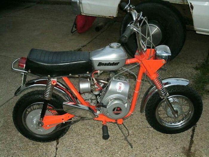 rupp roadster minibike