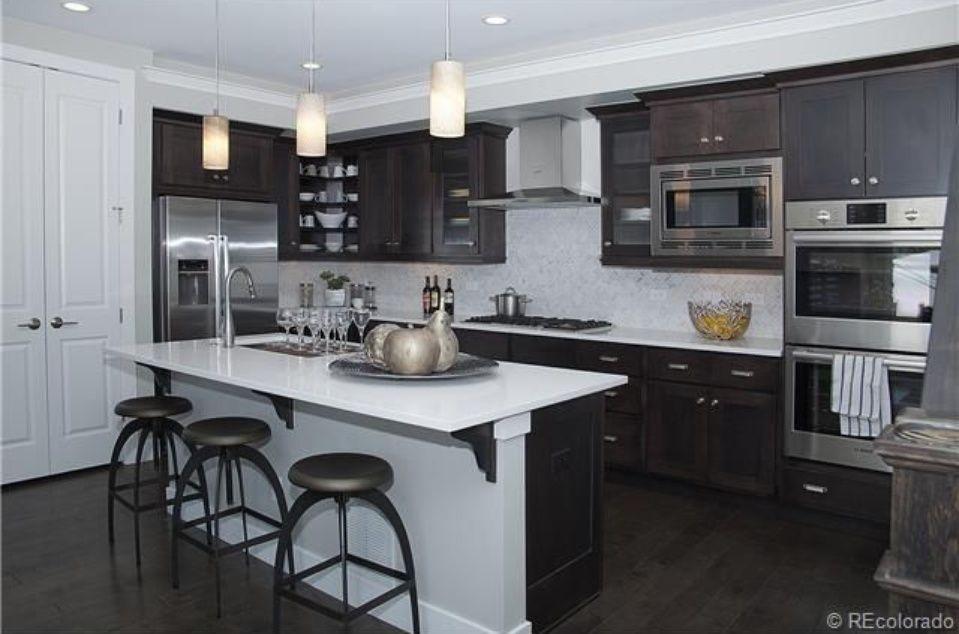 home builders colorado springs co  denver  kitchen