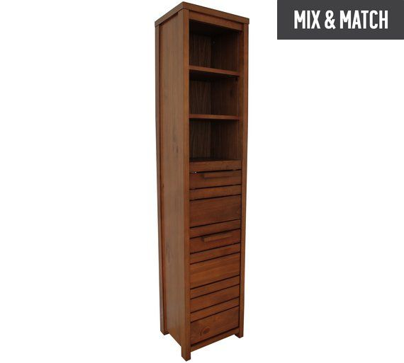 Buy Heart of House Cranbrook Solid Pine Tall Cabinet at ...