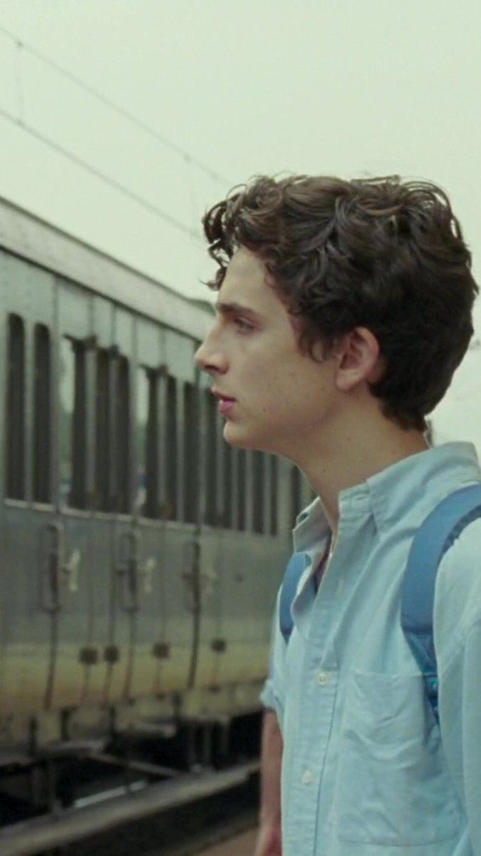 Timothee Chalamet Call Me By Your Name
