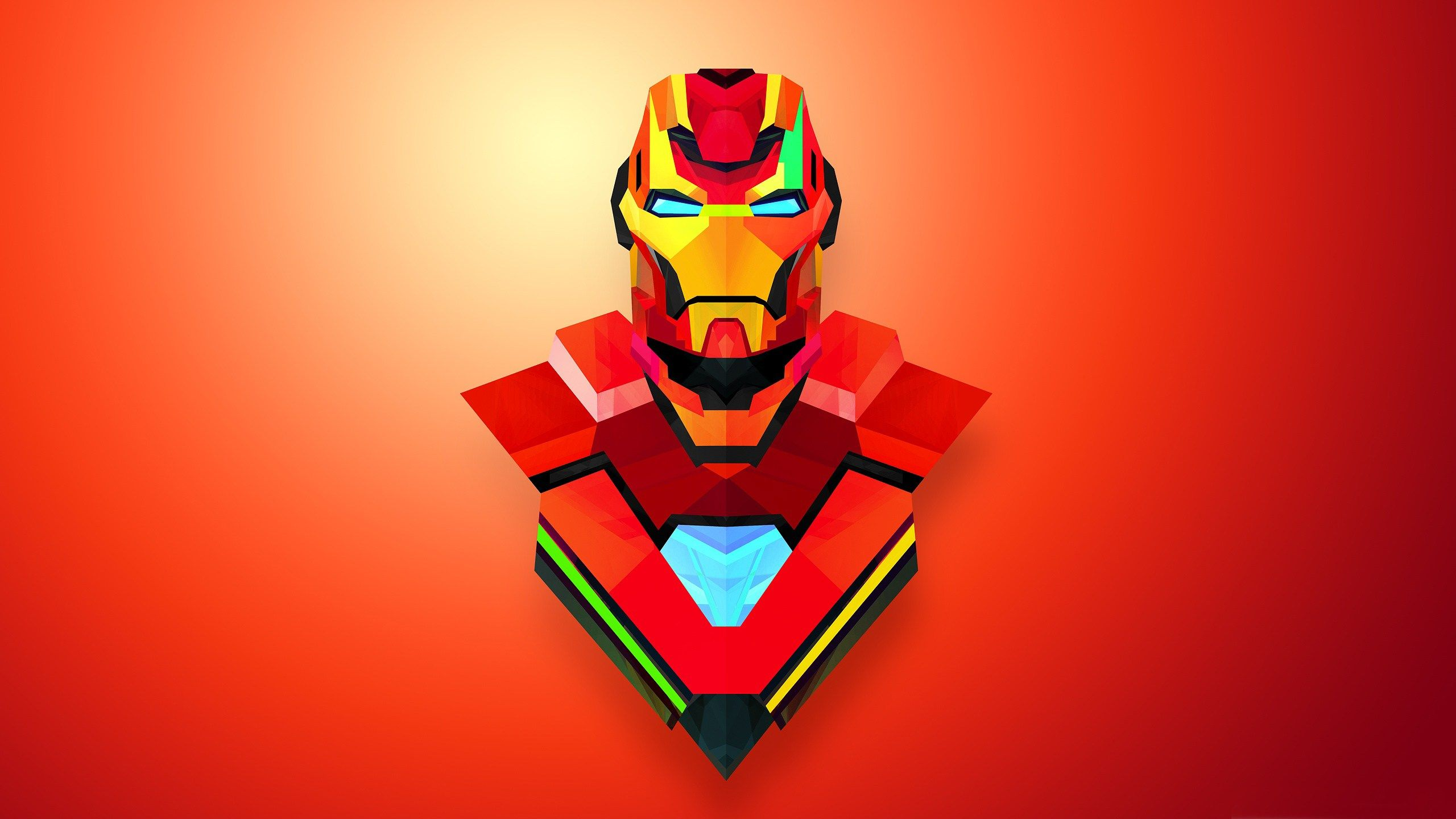 Photo Collection Super Hero Pc Wallpaper Abstract Iron Man
