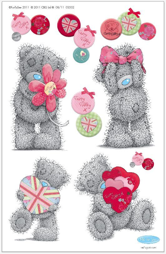 Tatty Teddy Love | i love teddy bears | Pinterest | Bären und ...