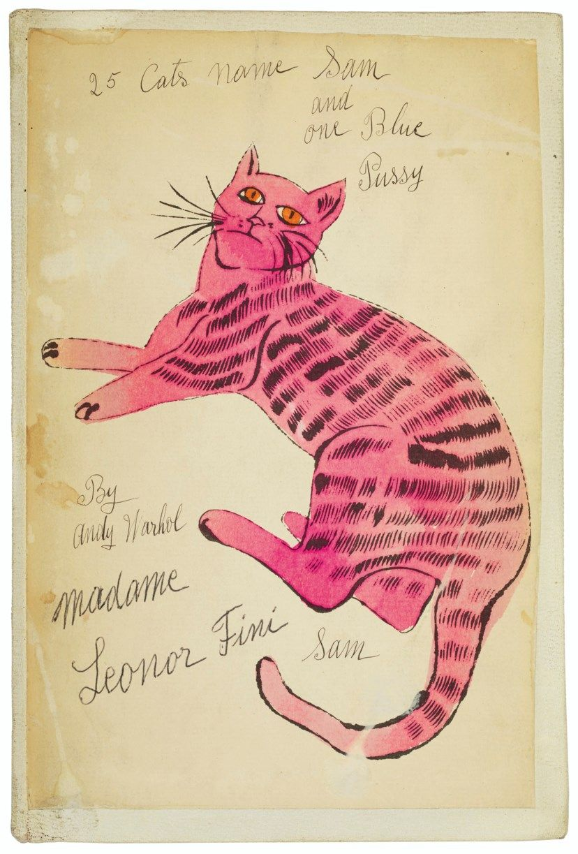 ANDY WARHOL (1928-1987) , 25 Cats Name(d) Sam and one Blue Pussy