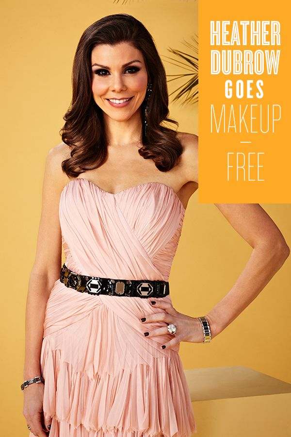 Rhoc S Heather Dubrow Looks Flawless Without Makeup Fashion Real Housewives Style