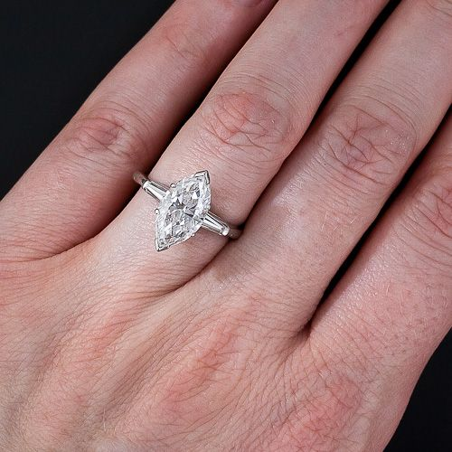 2 75 Carat Marquise Diamond Ring 10 3 5348 Lang Antiques Marquise Diamond Ring Fashion Rings Engagement Rings Sapphire