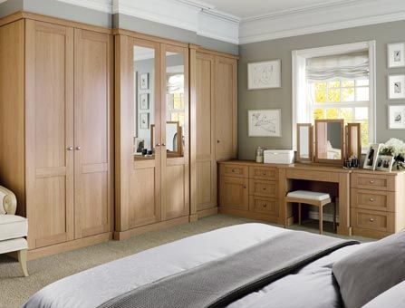 Classic Verona English Oak Fitted Bedroom By Strachan Fitted Bedroom Furniture Bedroom Furniture Design Oak Bedroom Furniture