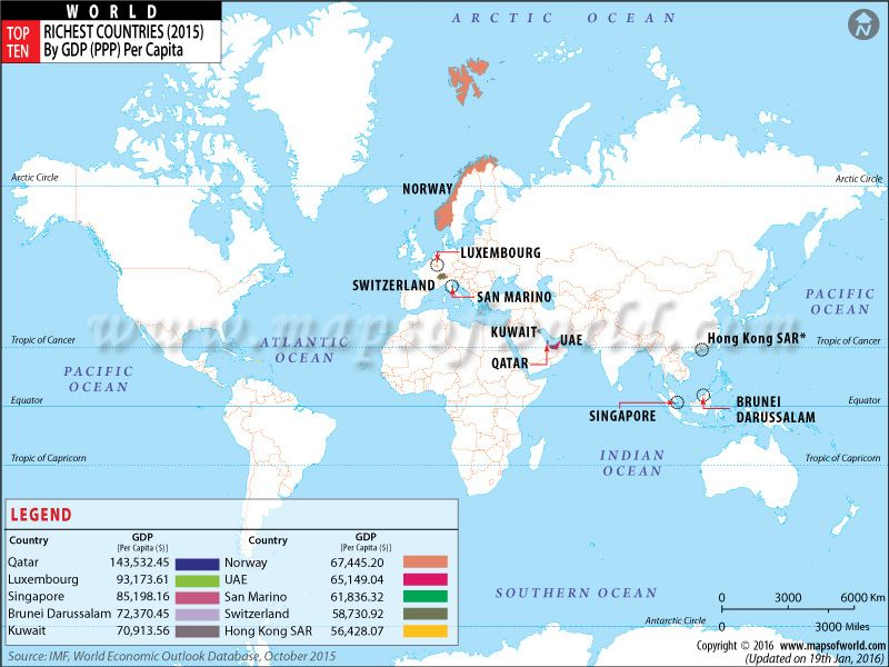 Top ten richest countries of the world maps pinterest top ten richest countries of the world gumiabroncs Choice Image