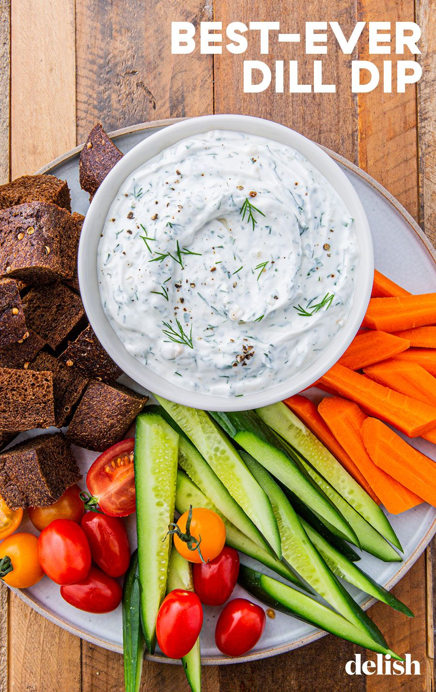 This Dill Dip Makes Us Actually Crave Veggies Recipe Healthy Veggie Dip Dill Recipes Dill Dip