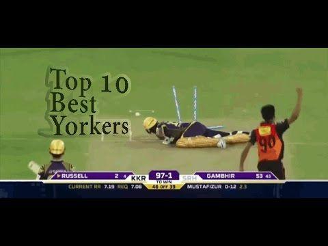 Top 10 Yorkers  || top 10 best yorkers in cricket history ever || Killer...