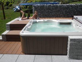 Bild von jean wheeler auf Hot tubs Whirlpool garten
