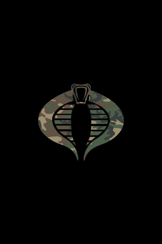 Cobra Woodland Logo Artwork Woodland Logo Gi Joe Cobra Nerd Art