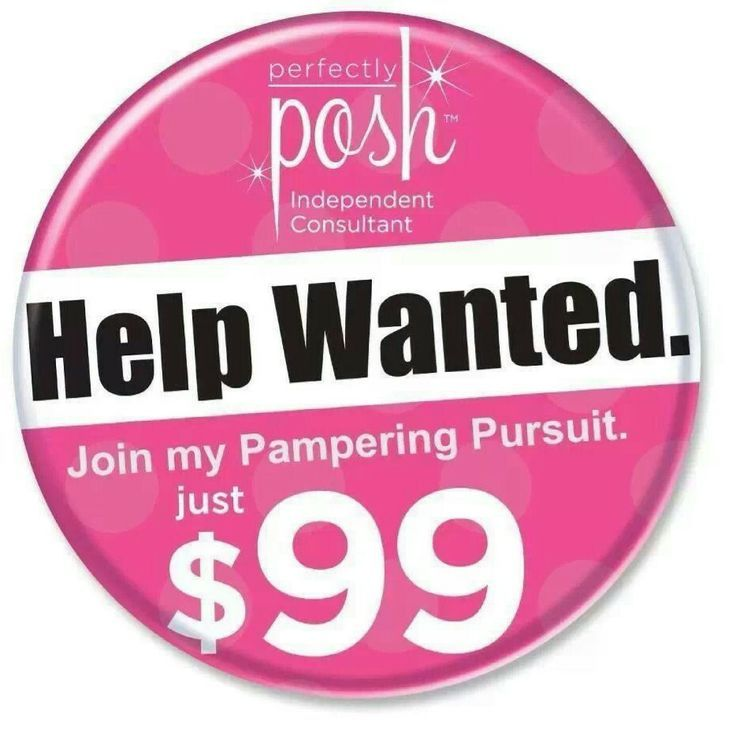 If you are ready for a Positive change, want to give your family a life free of harsh chemicals and synthetic fillers--if you are ready for the recognition you deserve or if you've grown tired of the work situation you are in now...Take the Leap! Join our pampering pursuit at www.discoverposh.com