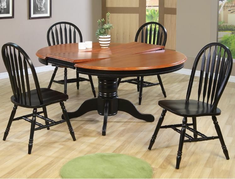 Dining Sets 5 Piece Round Dining Set by E P Products