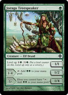 PRIEST OF TITANIA NM mtg Commander 2014 Green Elf Druid Com
