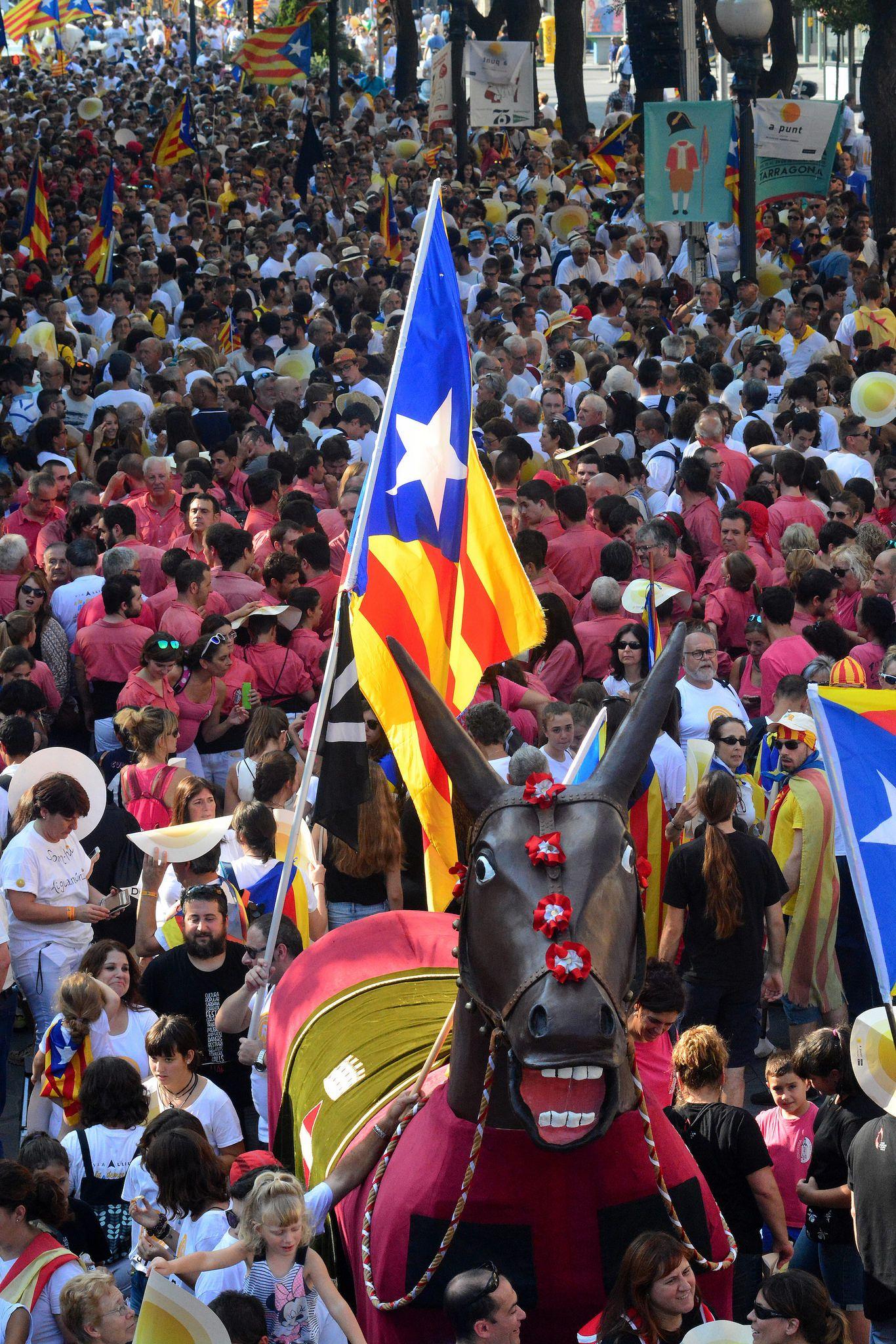 Diada 2016 a Tarragona. Catalonia Fotos: Francesc Bofarull
