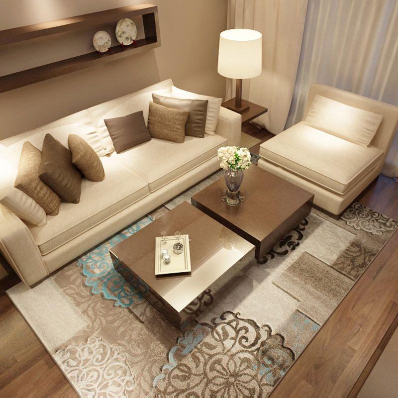 160x230 cm grandes alfombras para la sala de estar moderna - Alfombras para sala ...