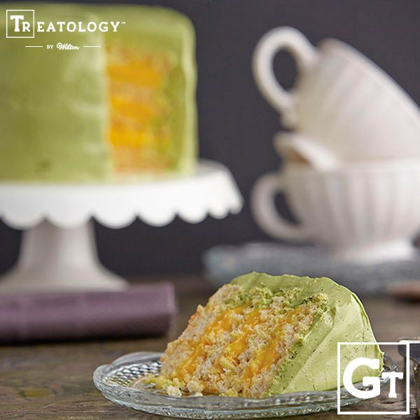 Ginger Cake With Green Tea Frosting Wilton