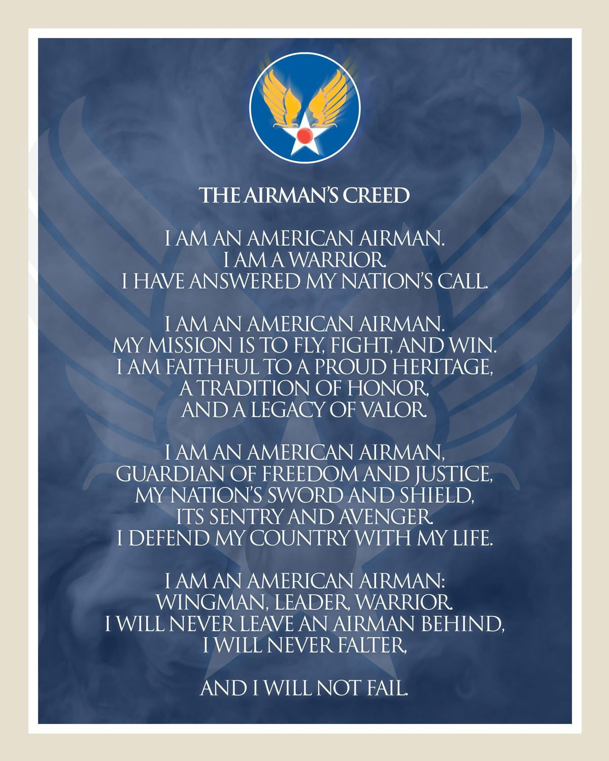 United states air force airmans creed photo this photo was united states air force airmans creed photo this photo was uploaded by captainpike find other united states air force airmans creed pictures and pho thecheapjerseys Images
