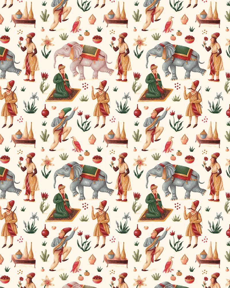 Vibrant Hand Painted Pattern Designs By Saddo http://designwrld.com/hand-painted-pattern-designs-saddo/