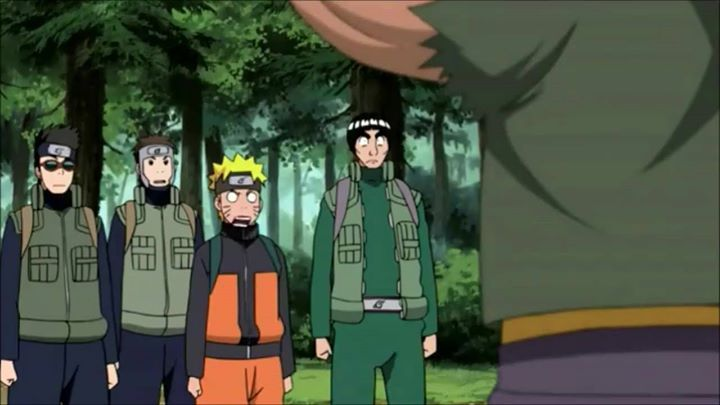 """#Naruto meets the """"REAL"""" Naruto.   This is one of the best filler episodes."""